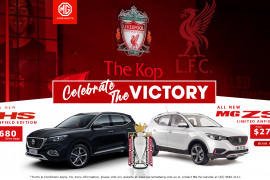 MG Anfield Liverpool Edition ZS & HS SUV