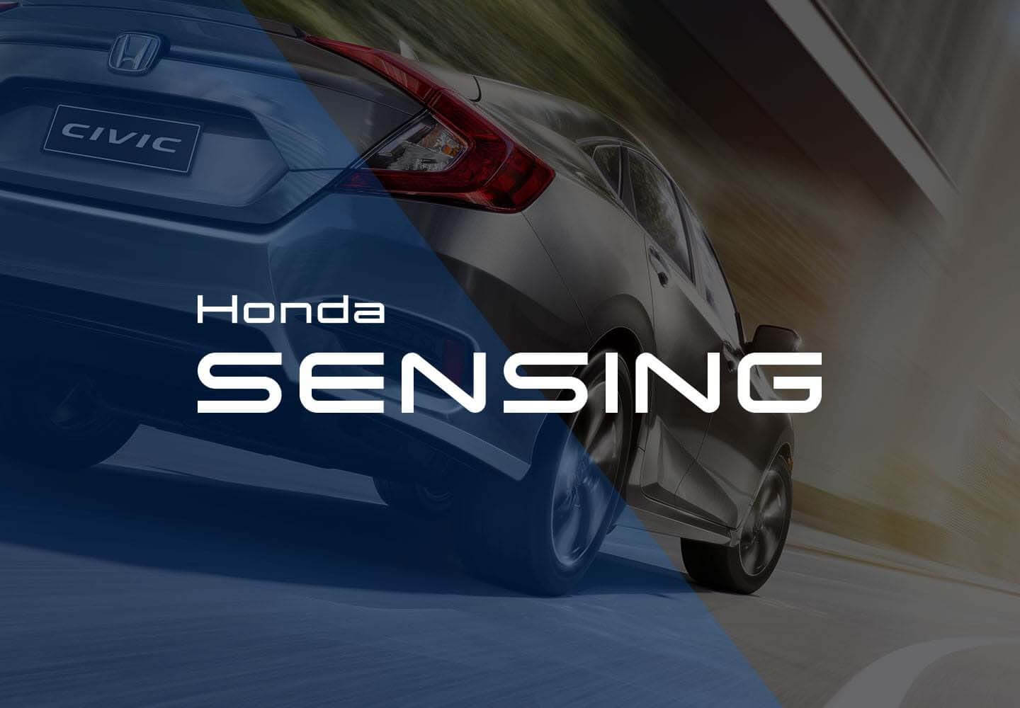 Civic Sedan Honda Sensing