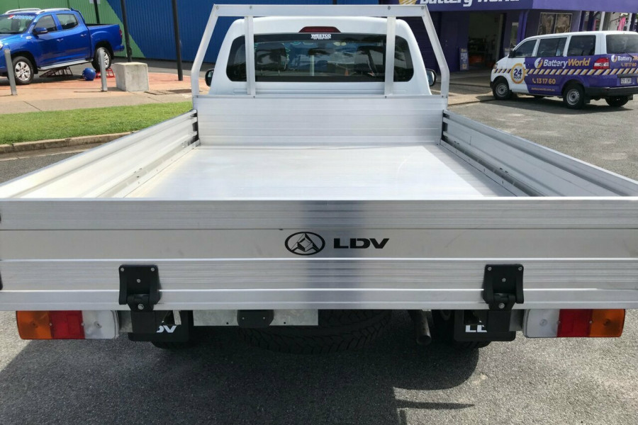 2018 LDV T60 Ute Cab Chassis SK8C Cab Chassis 4WD Cab chassis