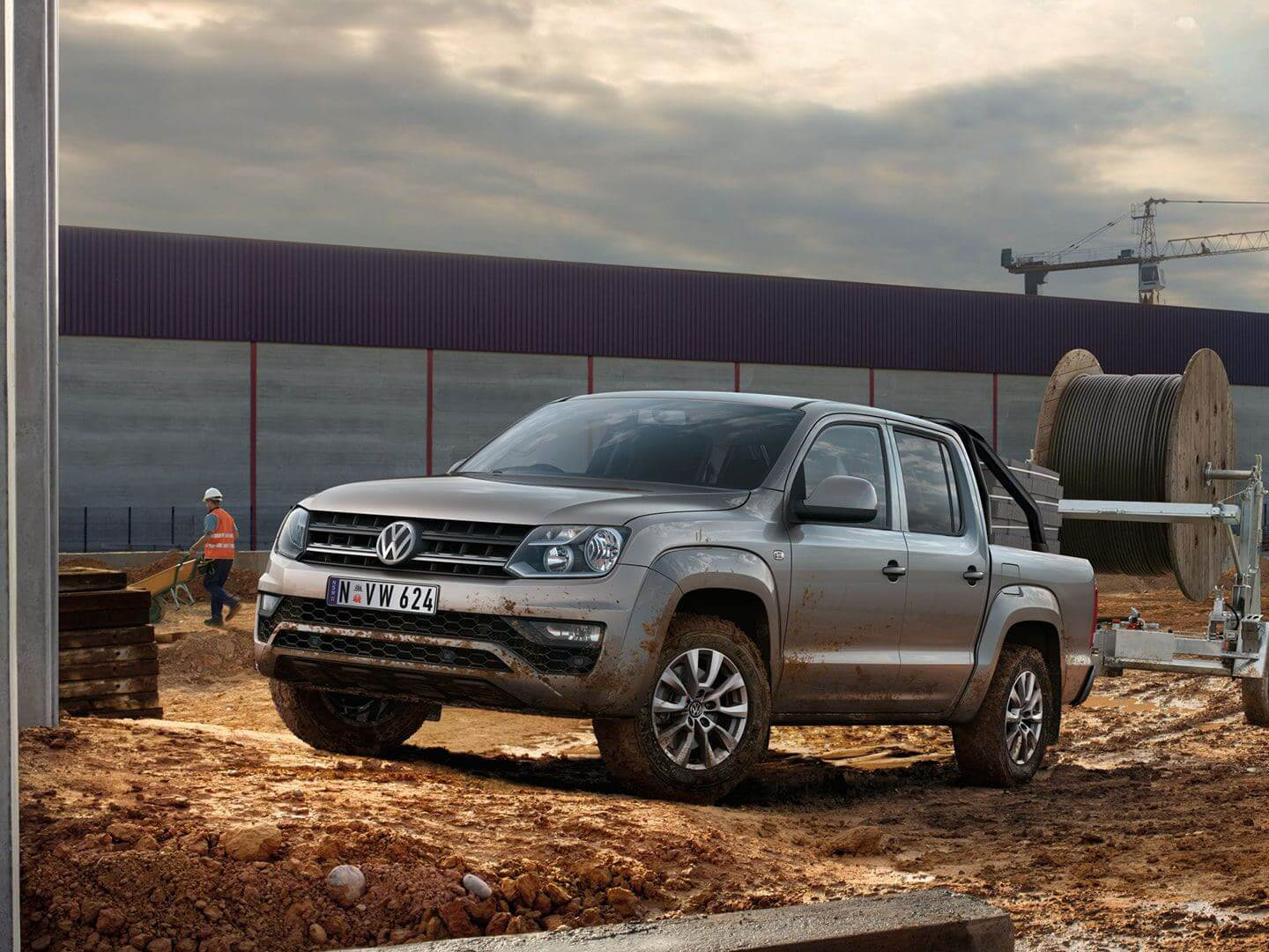 Amarok <strong>Tough,</strong> full length ladder frame chassis