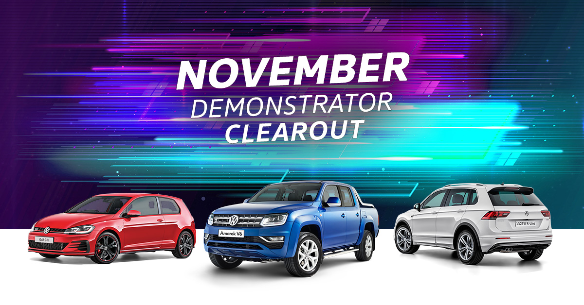 November Demonstrator Clearout