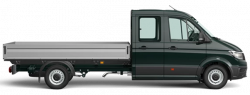 New Volkswagen Crafter Cab Chassis