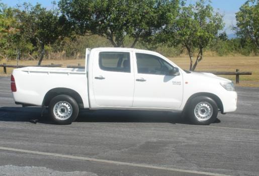 2012 Toyota HiLux KUN16R MY12 SR DUAL CAB Utility