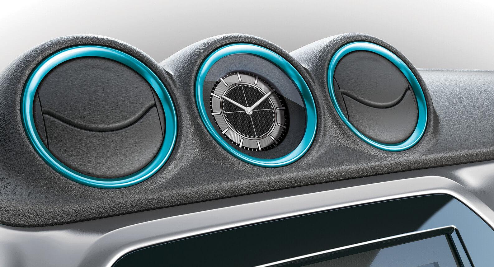 Vitara Air Conditioner Ring Set - Atlantis Turquoise