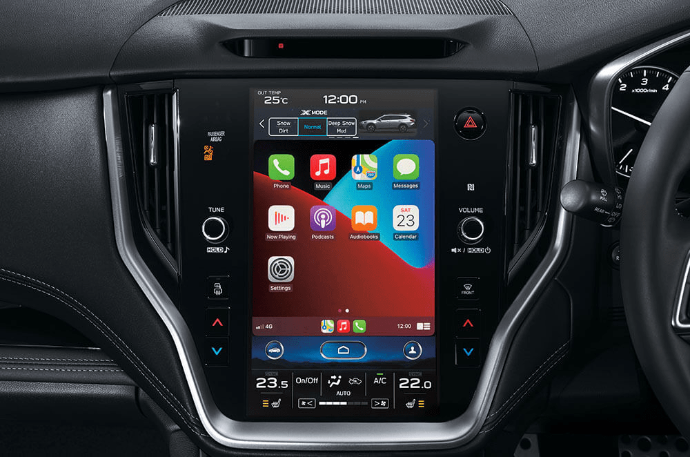 Outback Apple CarPlay and Android Auto