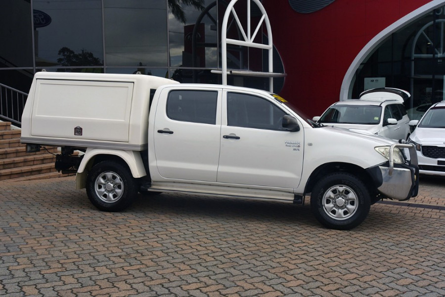 2009 Toyota HiLux KUN26R MY09 SR Cab chassis Mobile Image 4