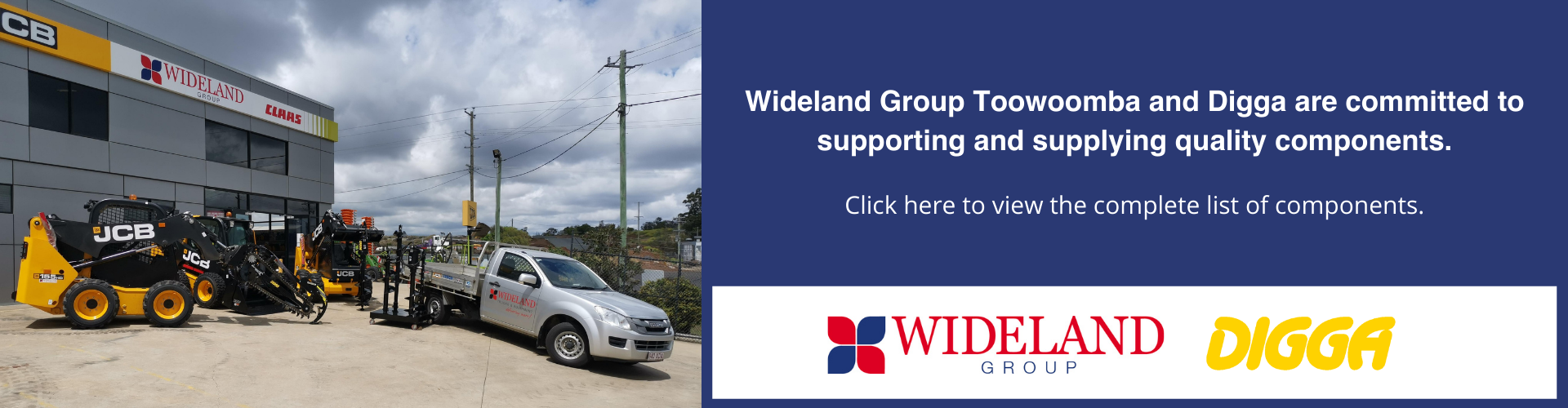 Wideland Group and Digga Supply Quality Components