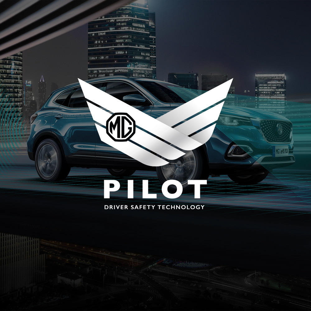 The New Standard in Driving Safety - MG Pilot Driver Safety Suite