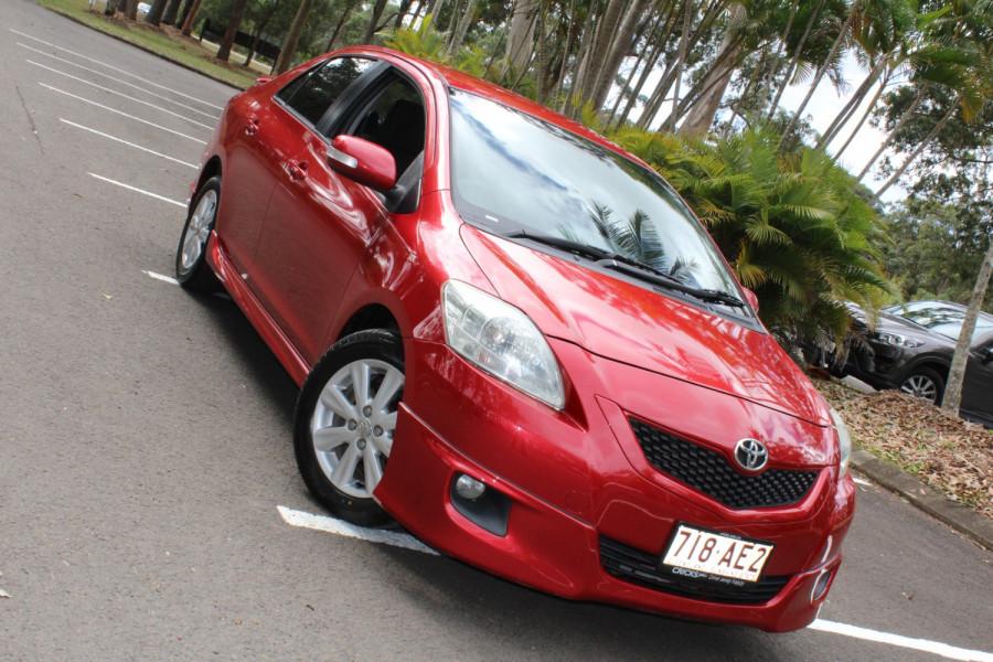 2008 MY09 Toyota Yaris NCP93R  YRX Sedan
