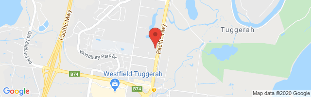 ELN MG - Tuggerah Map