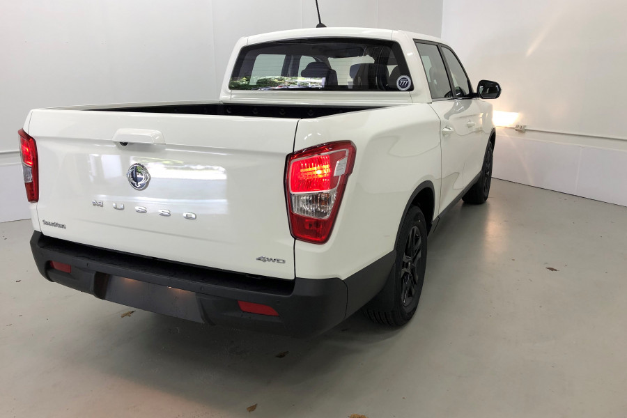 2020 MY19 SsangYong Musso Q200 Ultimate Utility Image 6