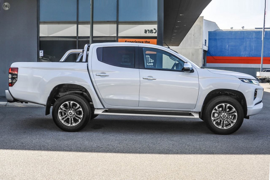 2019 MY18 Mitsubishi Triton MQ GLS Double Cab Pick Up 4WD Utility