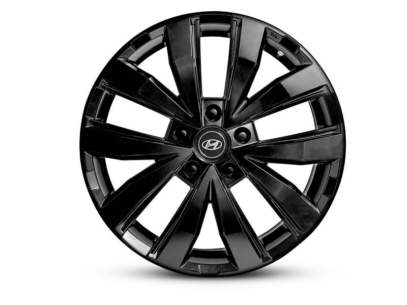 18 inch Suwon Satin Black Alloy Wheel