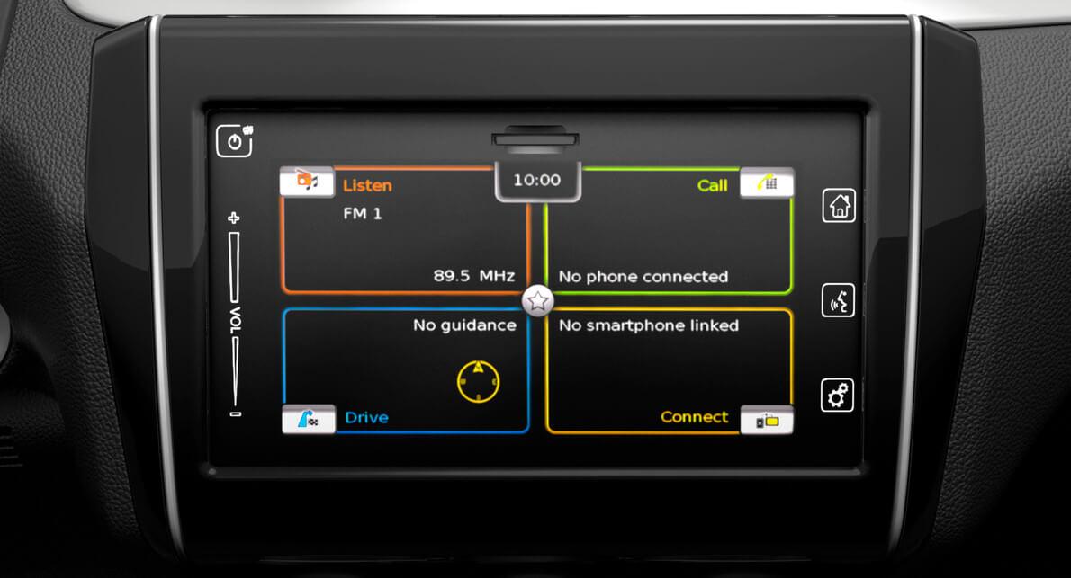 7-inch colour touchscreen