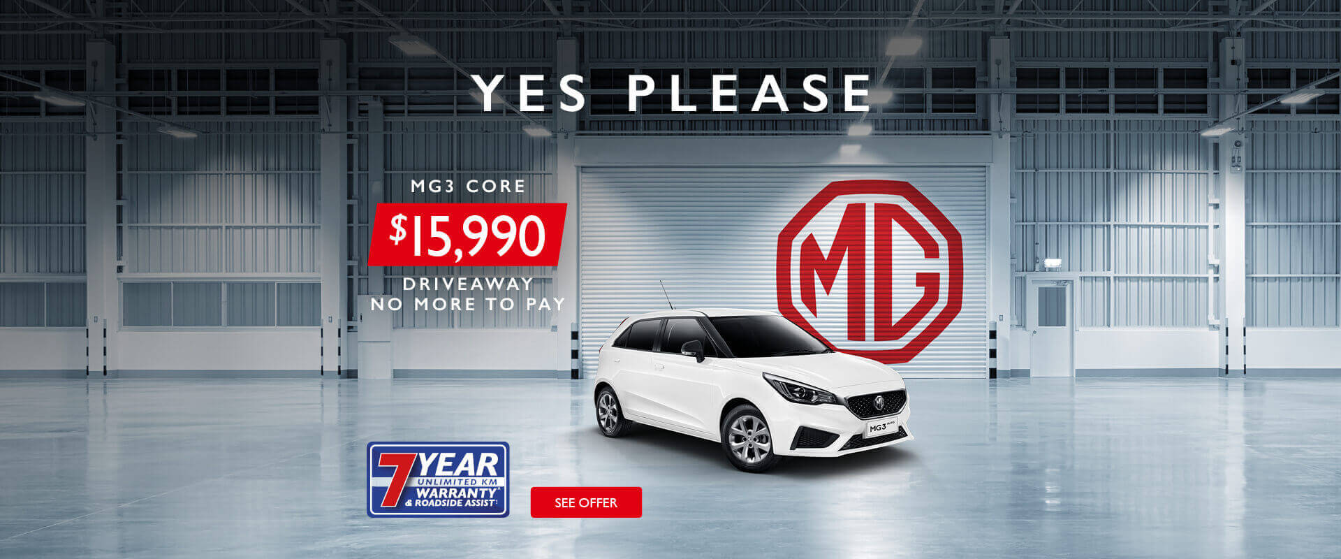 MG3 Core Offer