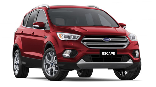 2017 MY18 Ford Escape ZG Titanium AWD Wagon