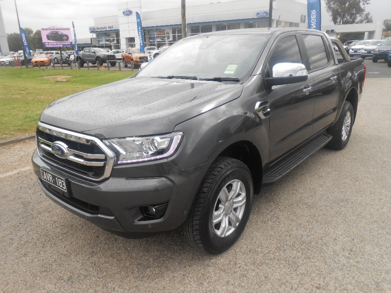 2018 my19 ford ranger px mkiii 4x4 xlt double cab pick up utility