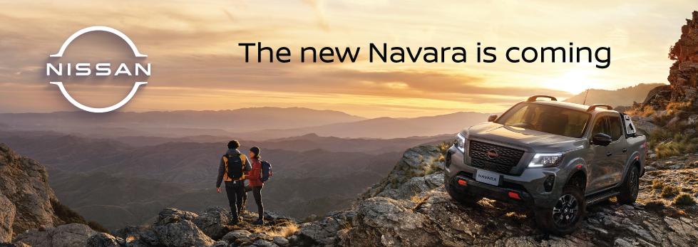 THE NEW NISSAN NAVARA IS COMING