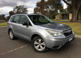 Subaru Forester 2.0D MY12