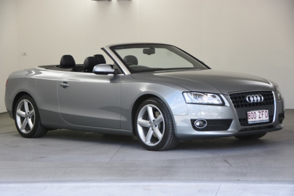 2010 MY11 Audi A5 8T MY11 Cabriolet Image 3