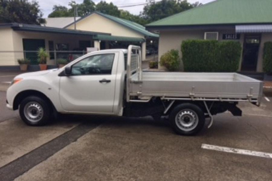 2014 Mazda BT-50 UP0YD1 XT Cab chassis Image 4