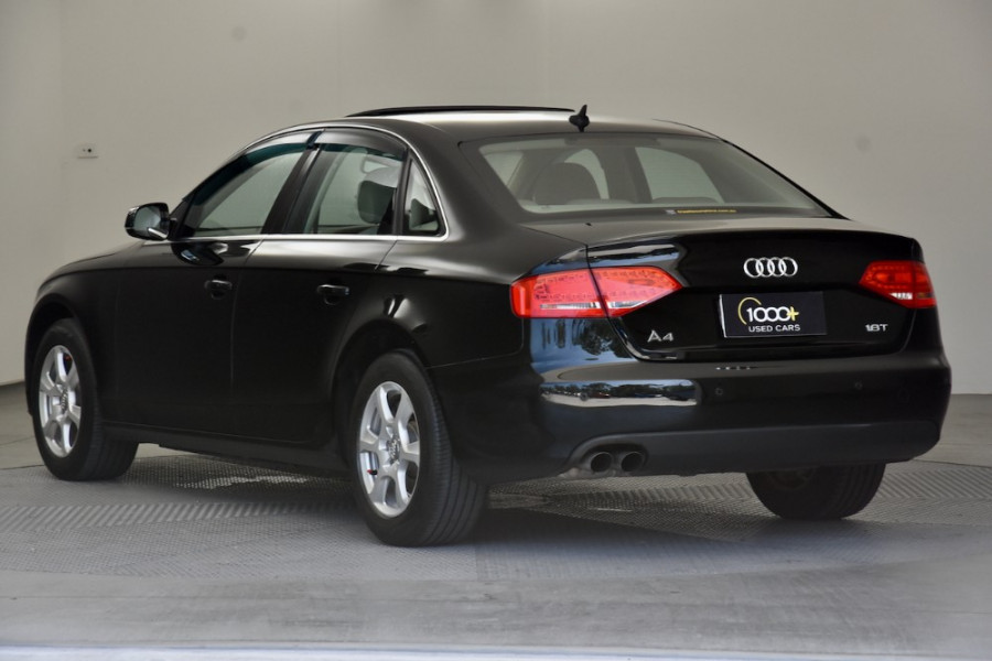 2010 MY11 Audi A4 B8 8K MY11 Sedan