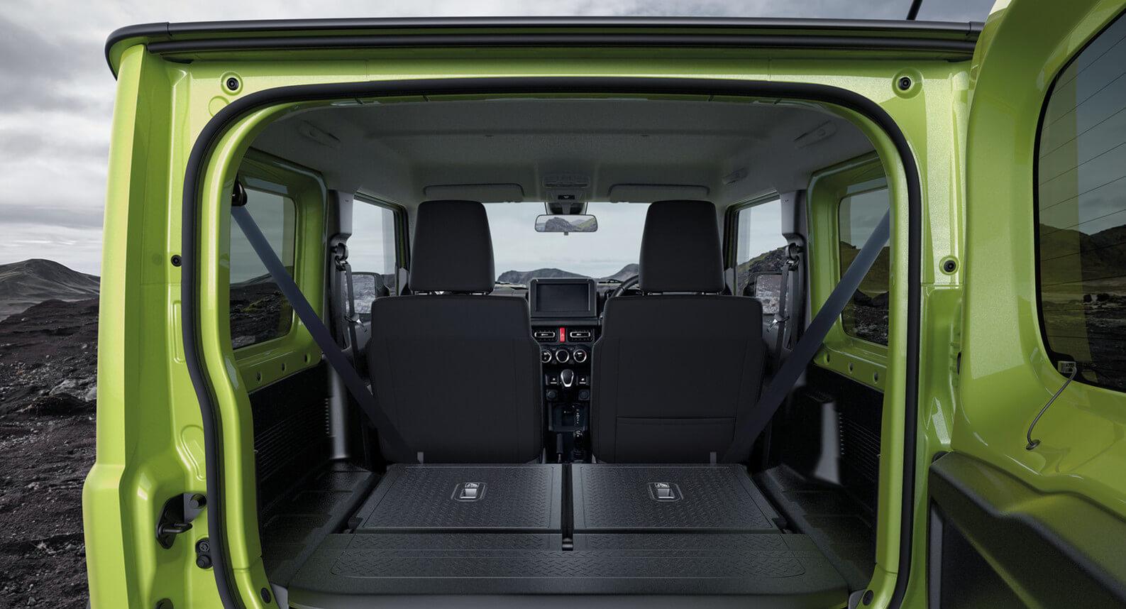 Practical rear storage
