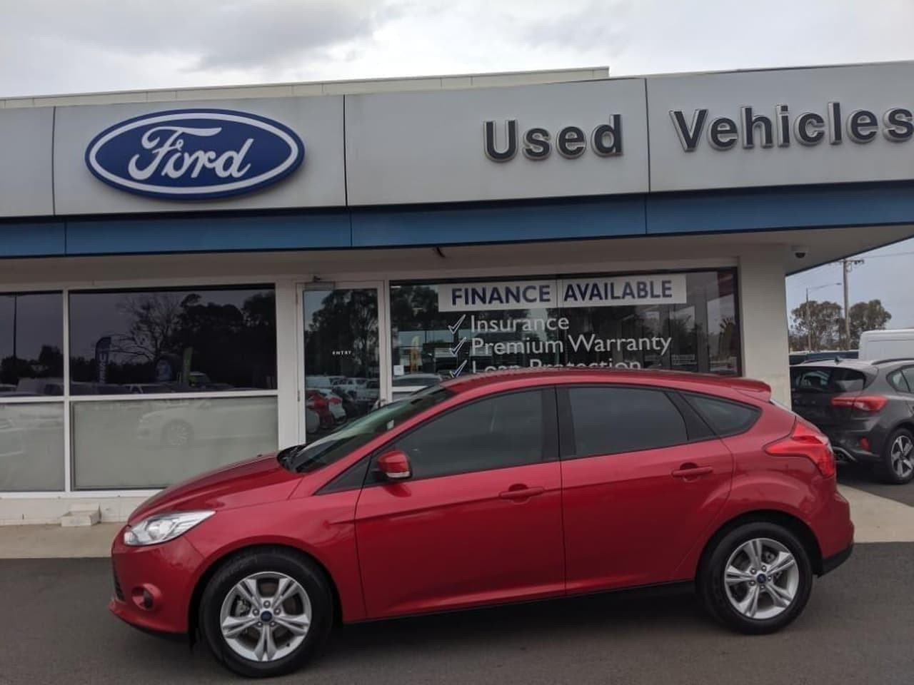 2014 Ford Focus LW MKII MY14 TREND Hatch
