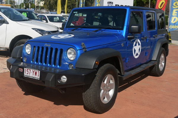 2015 Jeep Wrangler JK MY2015 Unlimited Softtop Image 4