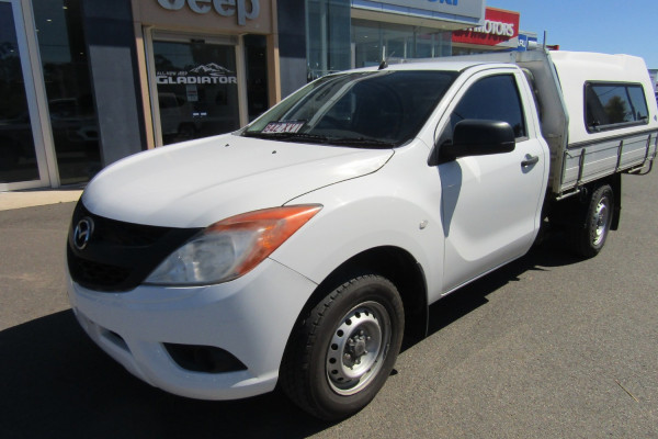 2013 Mazda BT-50 UP0YD1 XT Cab chassis Image 2