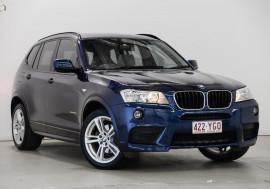 BMW X3 4D 2013 BMW X3 xDRIVE 20d AUTO