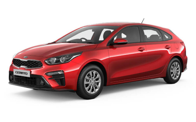 Kia Cerato Hatch S with Safety Pack BD