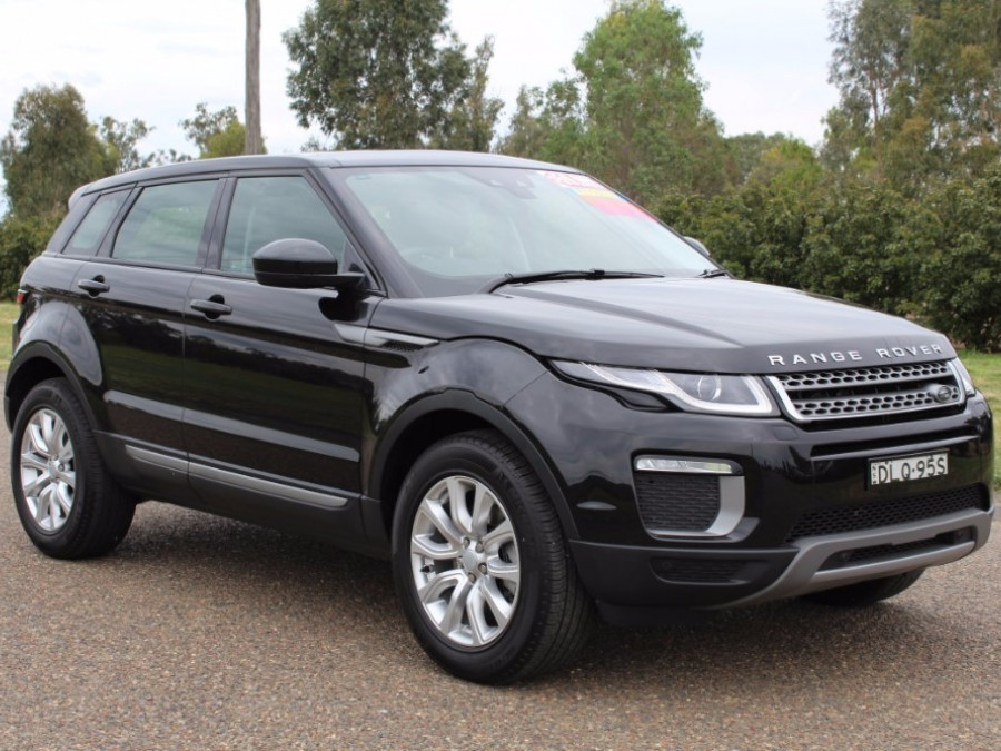 2016 MY17 Land Rover Evoque Td4 L538  TD4 150 TD4 150 - SE Wagon