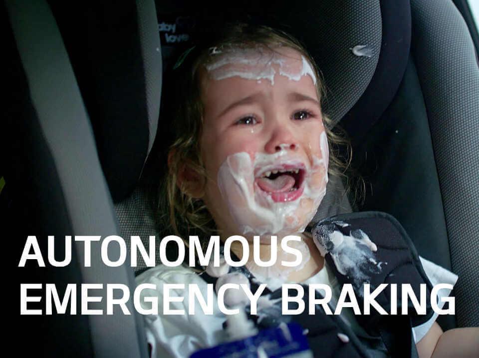 Sportage Autonomous Emergency Braking