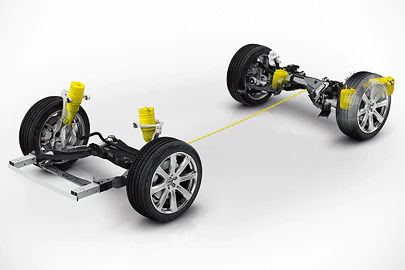 Active chassis with air suspension Image