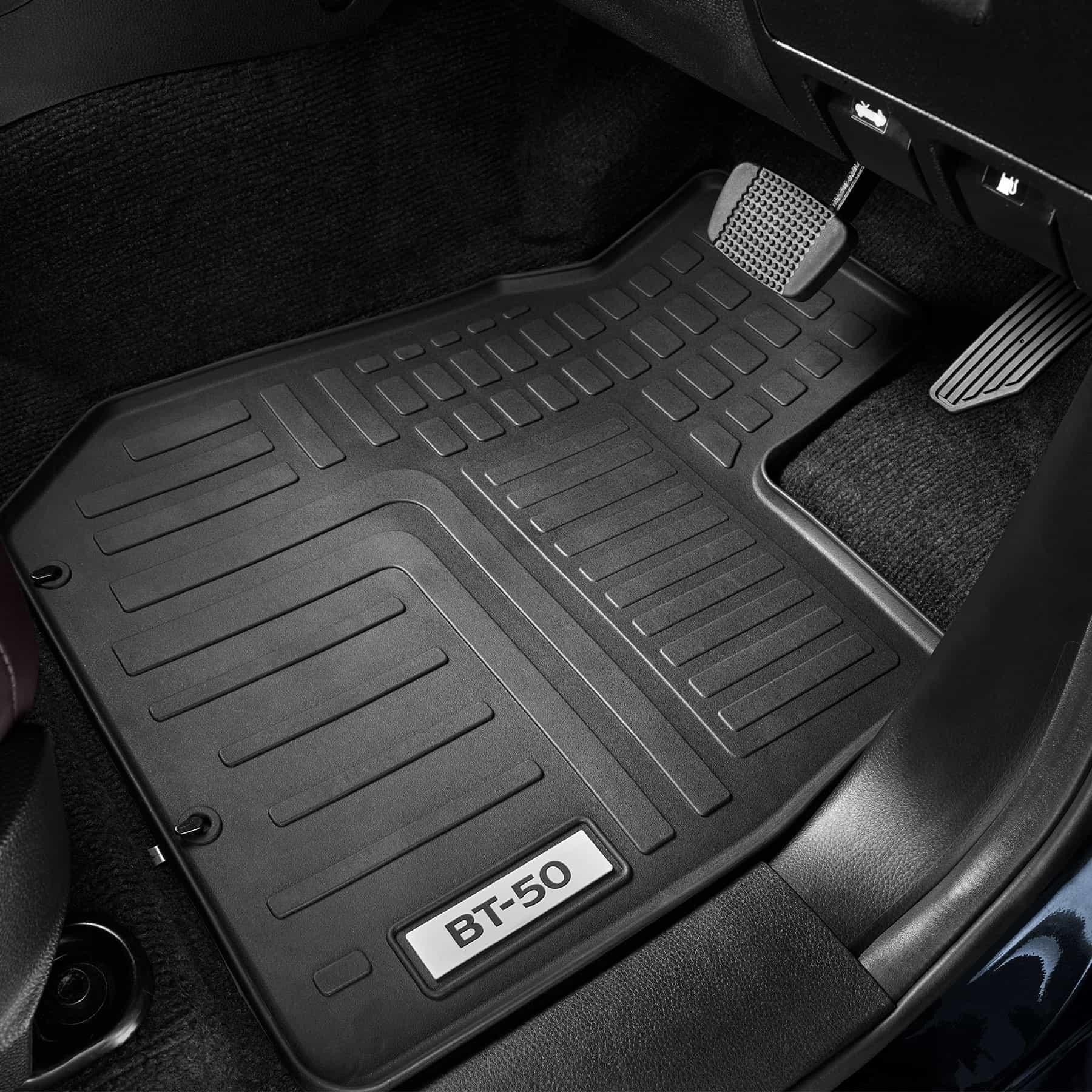 Rubber Floor Mat - Dual Cab