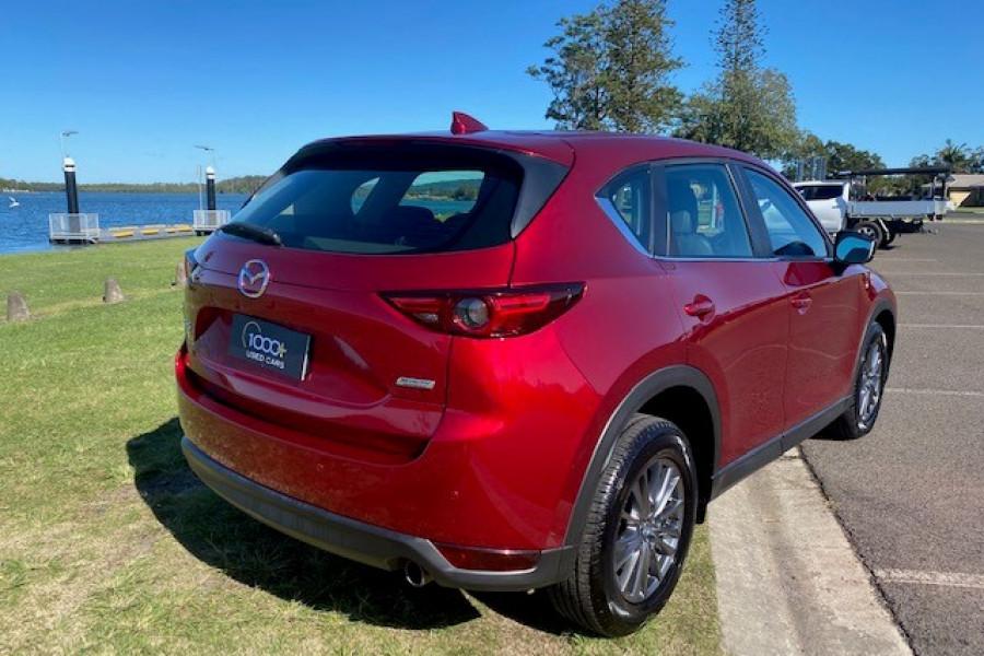 2017 Mazda CX-5 KF4WLA Touring Suv