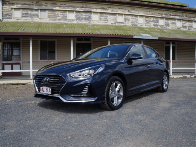 2018 Hyundai Sonata LF4 Active Sedan