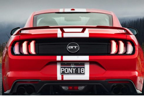Spoiler - Fastback - Performance Rear Wing