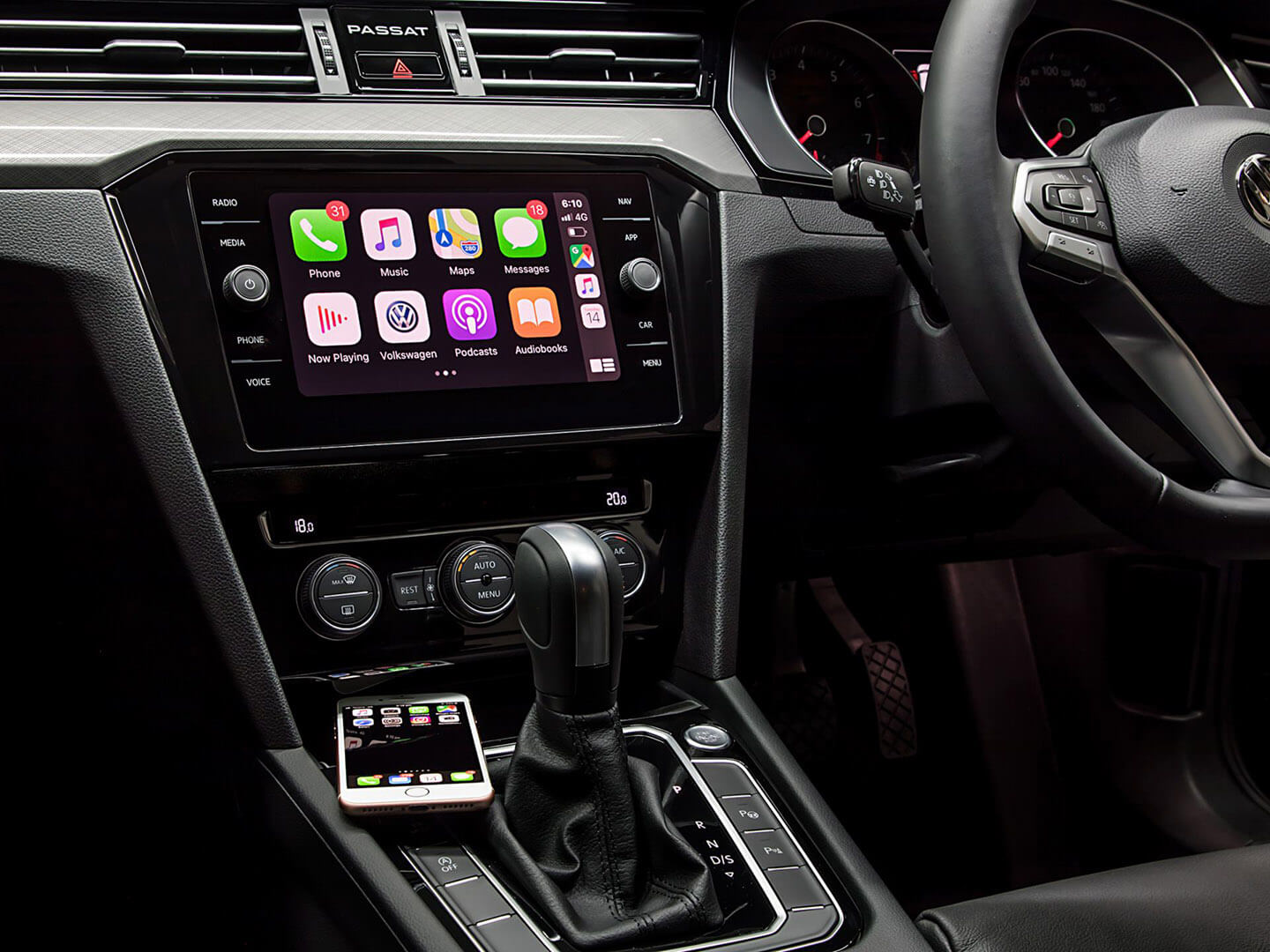 It just works Wireless Apple CarPlay Image