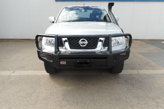 2012 Nissan Navara D40 S6  ST Utility Image 2