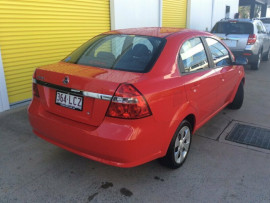 2008 Holden Barina TK MY08 Sedan