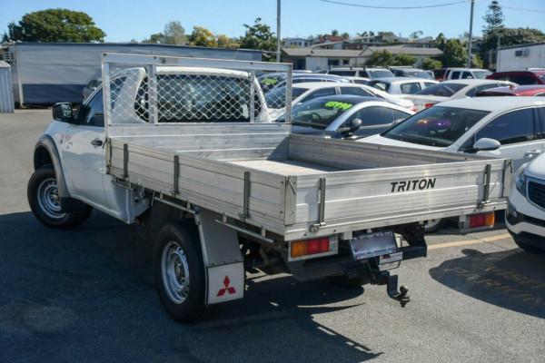 2012 Mitsubishi Triton MN MY12 GLX Cab chassis Image 5