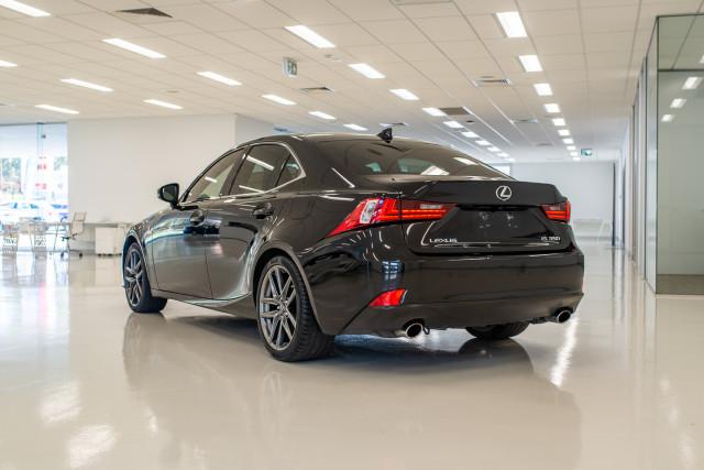 2016 Lexus Is GSE31R 350 F Sport Sedan Image 8