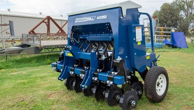 New Agrowplow Agrowdrill Vineyard Seeder
