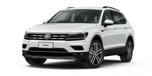 2018 Volkswagen Tiguan 5N Allspace Highline 4 motion wagon