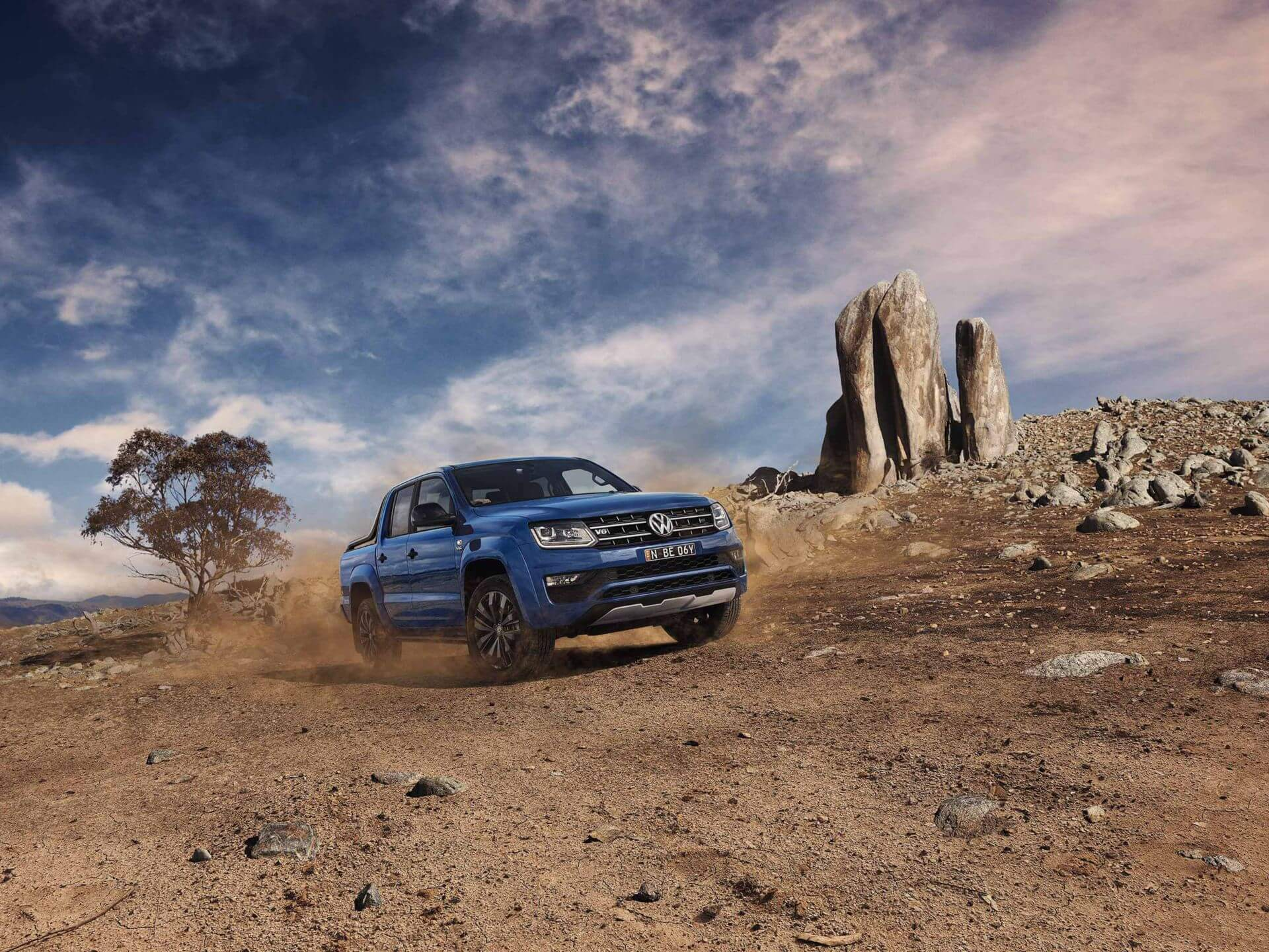Amarok <strong>Ready</strong> for any adventure