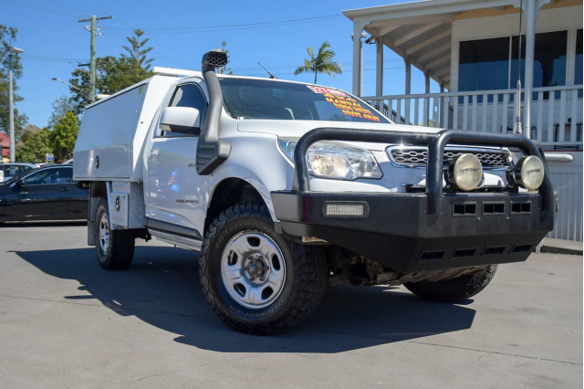 2014 Holden Colorado RG MY14 DX Cab chassis