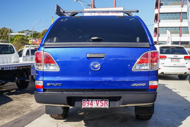 2015 Mazda BT-50 UP XT Cab chassis