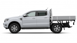 2020 MY21.25 Ford Ranger PX MkIII XLT Double Cab Chassis Utility image 4